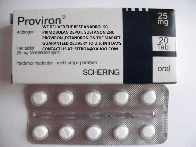 buy proviron ORDER ANADROL 50 OXYMETHOLONE PROVIRON SUSTANON 250 PRIMOBOLAN DEPOT TESTOSTERONE